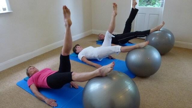 Mat Pilates Classes Advanced Spine Curls Ball